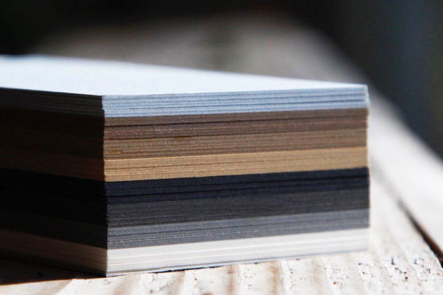 Coloris de papiers avec un camaïeu de gris brun