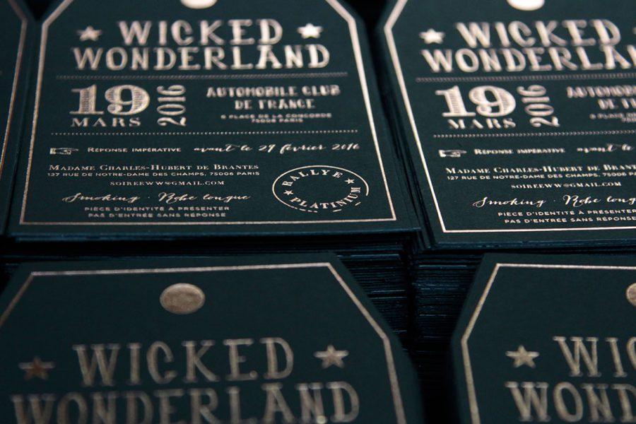 Evénementiel Wicked Wonderland